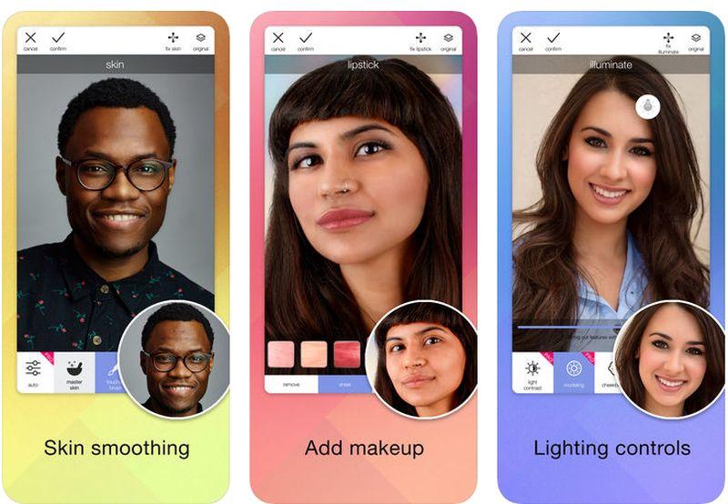 MIRA selfie editing app