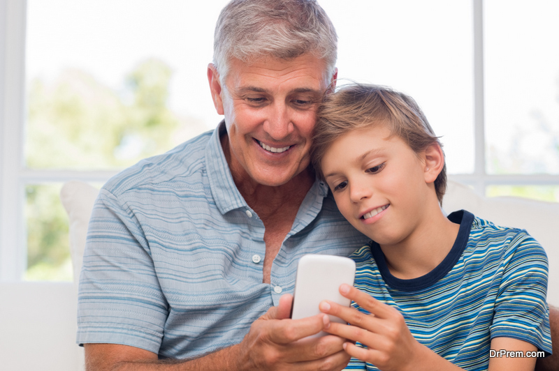 make your android phone grandpa friendly