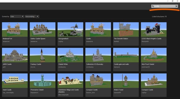 search_castles - Structure Wiki (StrWiki)