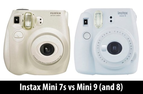 instax mini 7s vs mini 9 8