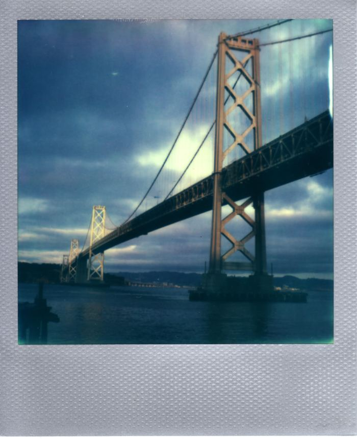 Taken with Polaroid 680SE using PX600 Silverframe (10*13). Exposure dial set to 1/3 Dark