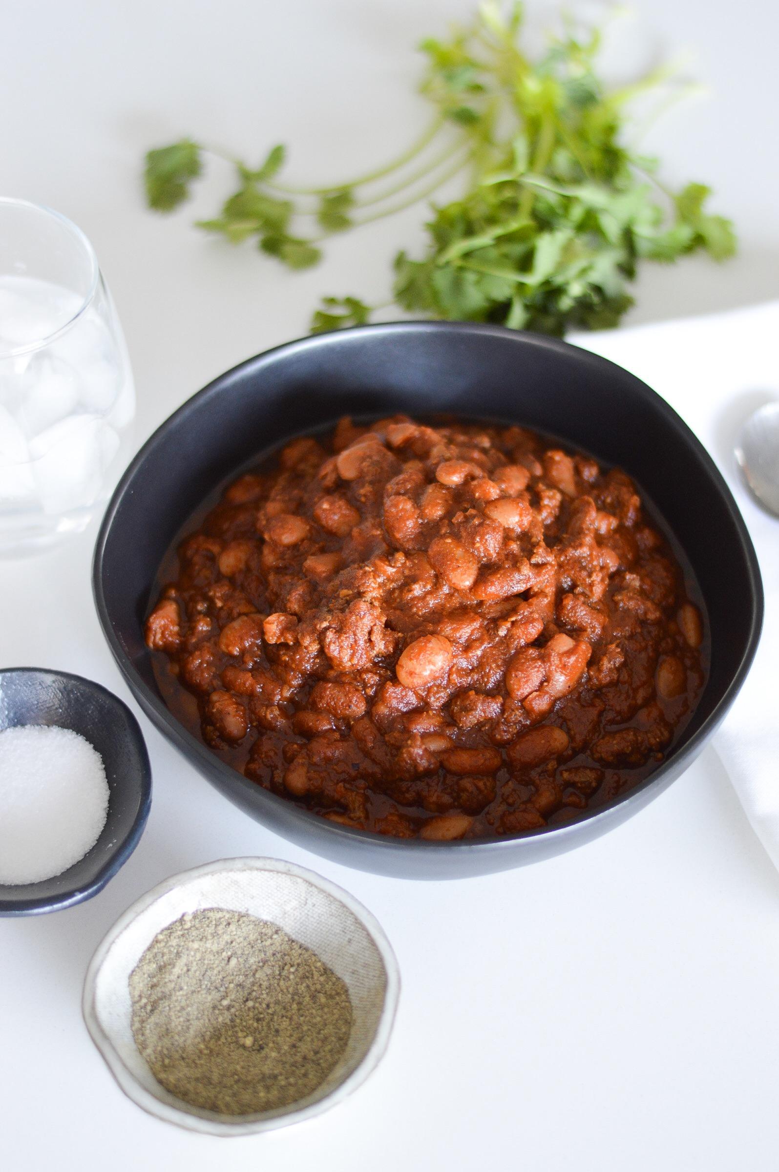 Mama's Simple Instant Pot Chili  instantloss.com