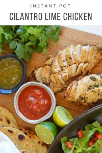 Instant Pot Cilantro Lime Chicken instantloss.com