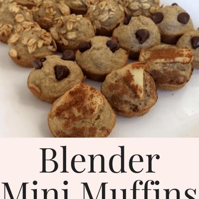 Blender Mini Muffins