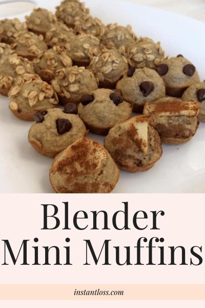 Blender Mini Muffins instantloss.com
