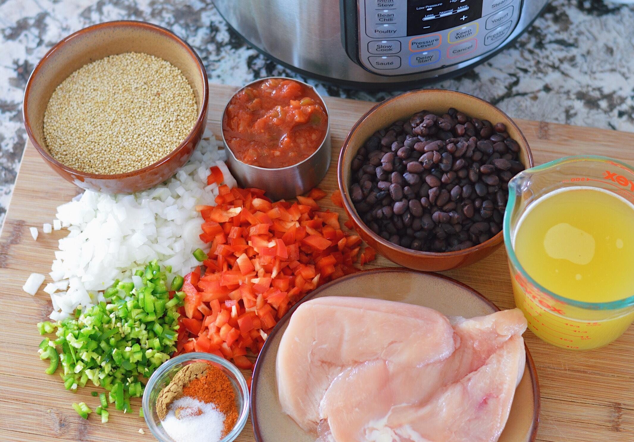 Instant Pot Burrito Bowls instantloss.com