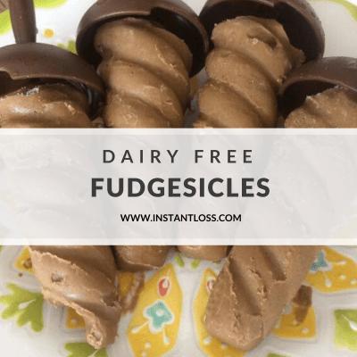 Dairy Free Fudgesicles