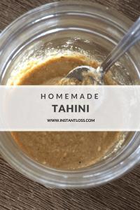 Homemade Tahini instantloss.com