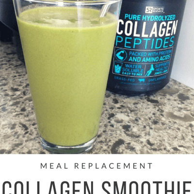 Meal Replacement Collagen Smoothie