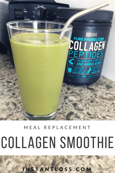 Meal Replacement Collagen Smoothie instantloss.com