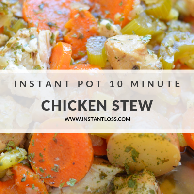 Instant Pot 10 Minute Chicken Stew