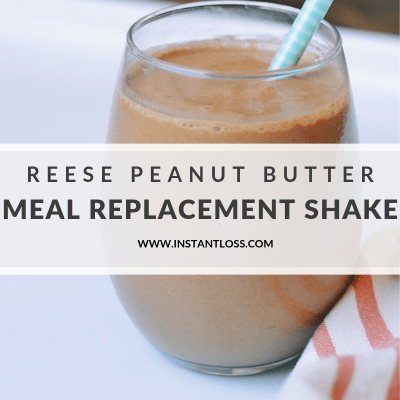 "Reese Peanut Butter Meal Replacement ""Milkshake"""
