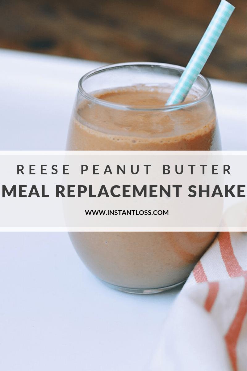 "Reese Peanut Butter Meal Replacement ""Milkshake"" instantloss.com"