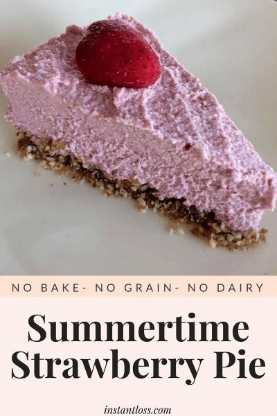 Summertime Strawberry Pie instantloss.com