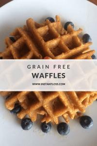 Grain Free Waffles instantloss.com