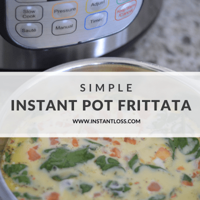 Simple Instant Pot Frittata