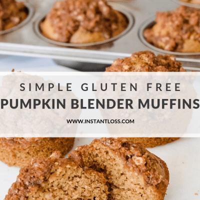 Gluten Free Pumpkin Blender Muffins