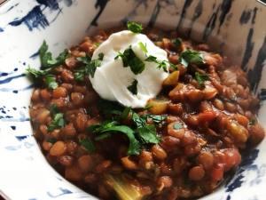 Vegan Lentil Chili instantloss.com
