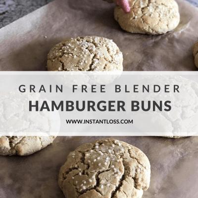 Grain Free Blender Buns