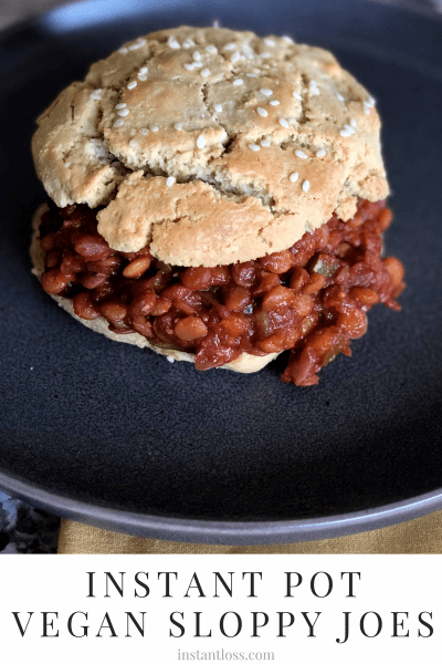 Instant Pot Vegan Sloppy Joes