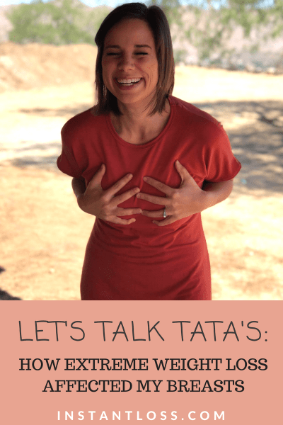 Let's Talk Tata's HOW EXTREME WEIGHT LOSS AFFECTED MY BREASTS instantloss.com