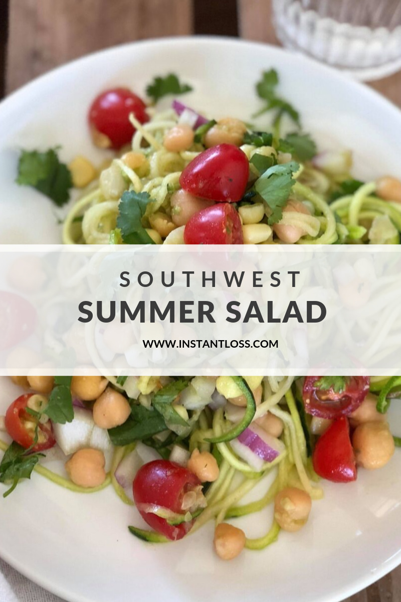 Southwest Summer Salad Instant Loss Conveniently Cook Your Way