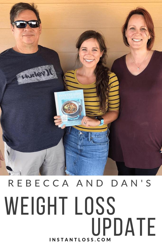 Rebecca and Dan's Weight Loss Update {October}