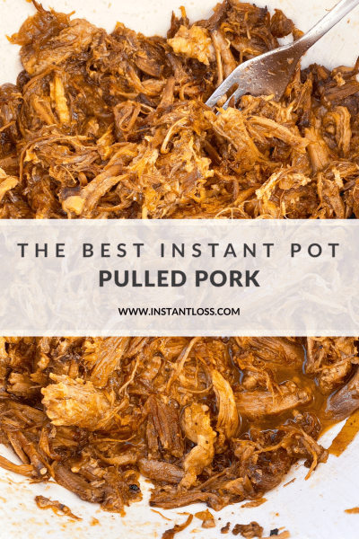 The Best Instant Pot Pulled Pork instantloss.com