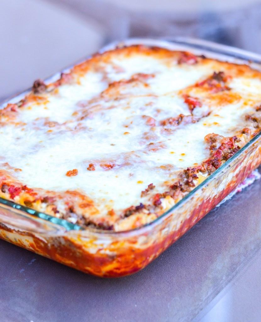 Easy Homemade Lasagna instantloss.com