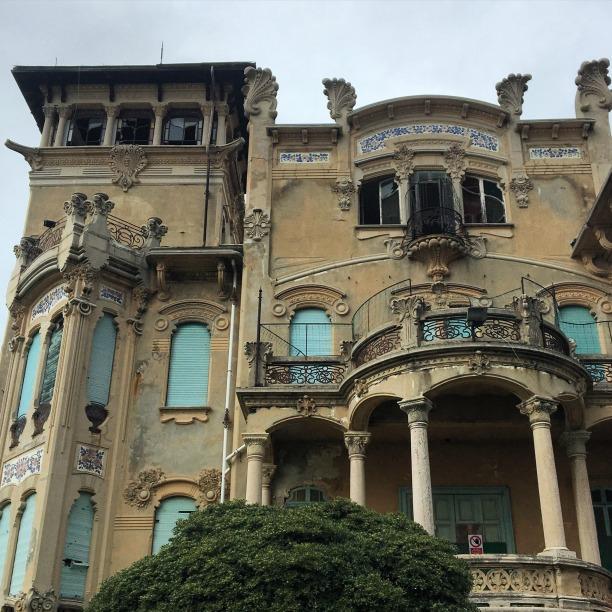 Art Nouveau Villa in Savona, Italy