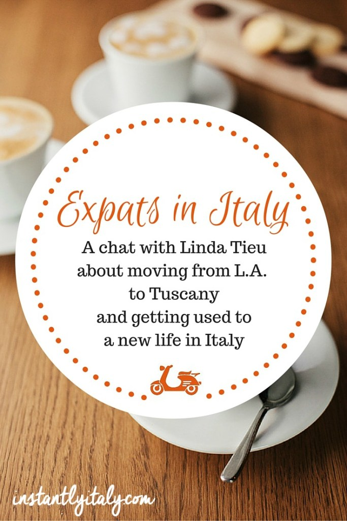 Expats in Italy: A chat with Linda Tieu