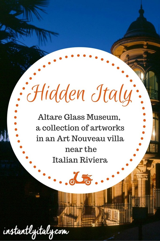 [Hidden Italy] Altare Glass Museum