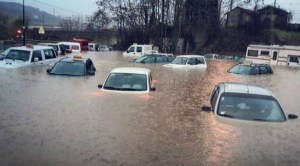The flood which hit Liguria in November 2016 on Instantly Italy