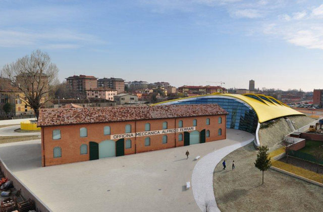 Enzo Ferrari House And Museum In Modena Italy Instantly Italy