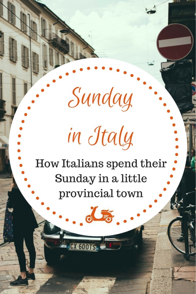 La domenica italiana: How Italians spend their Sunday in a little provincial town