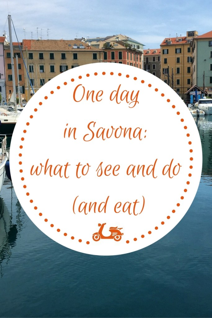 If you are staying in Savona for one day or even less, this post can be useful as it gives you a list of things to see and do there. And some tips about food, of course!