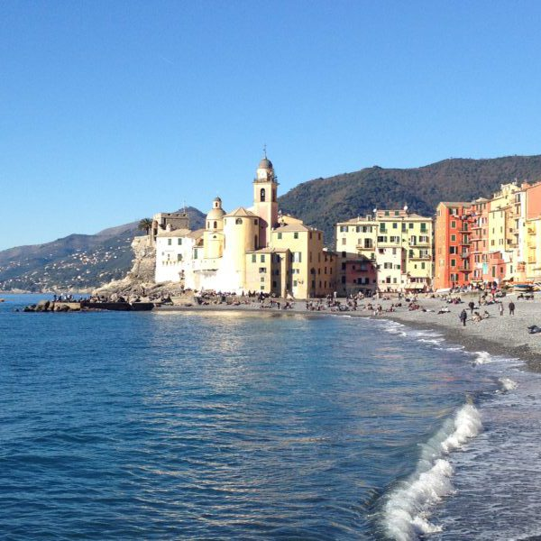 The church of Camogli, Liguria