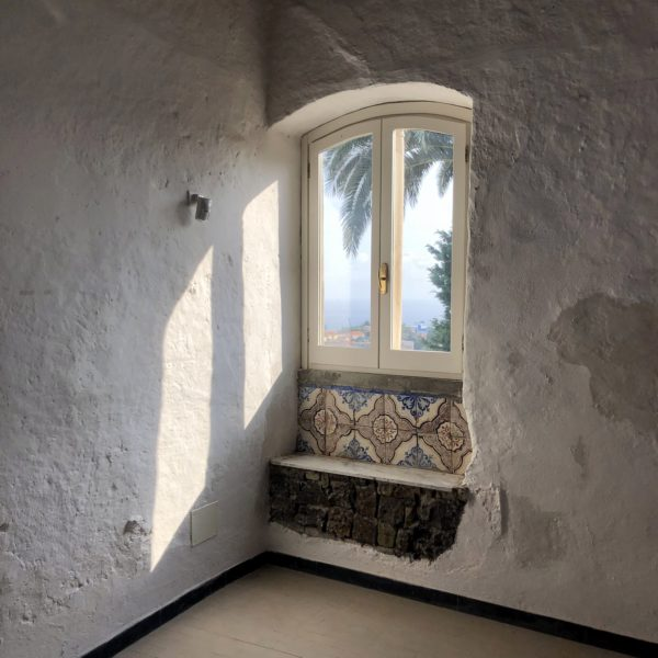 Jorn House Museum, view from a window