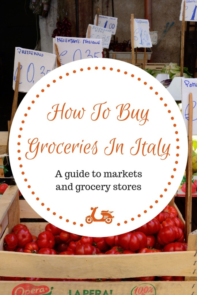 In this post, you'll find some tips and information about how to buy groceries in Italy (language tips included!)
