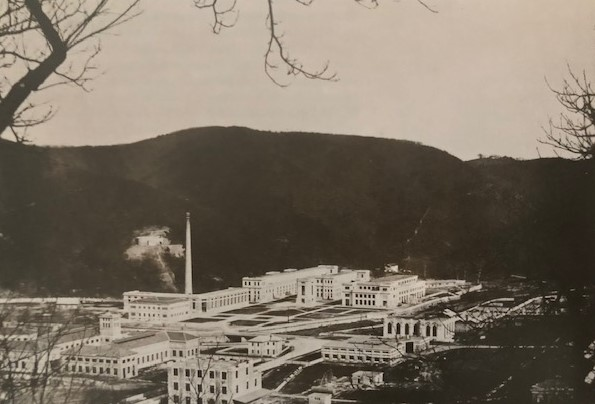 Ferrania, a view of the plant in 1918