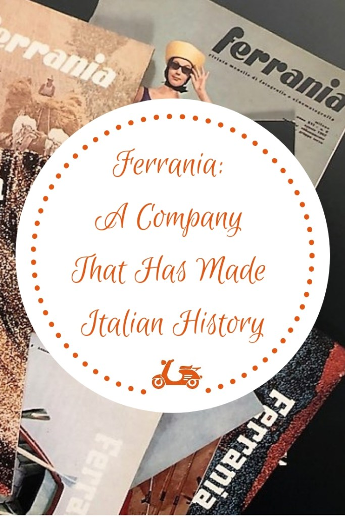 Many companies have played a big role in making Italian history. One of them, which is now quite forgotten, is Ferrania, a company producing film for cameras and cinema, and you'll find a bit of its history in this post