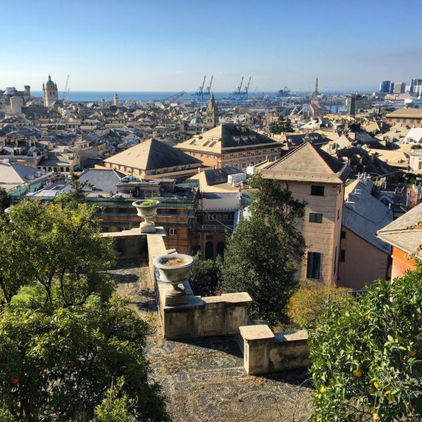 Genova, a view of the city from above