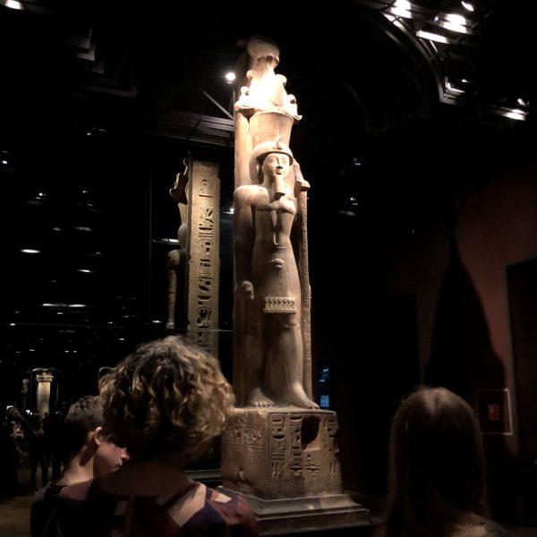 Museo Egizio, the statue of Sethi II