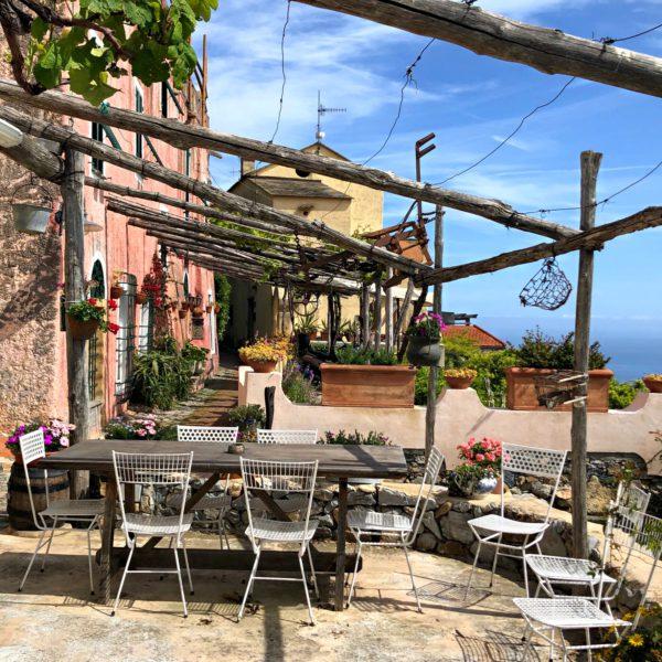 Verezzi, a view of Borgata Roccaro
