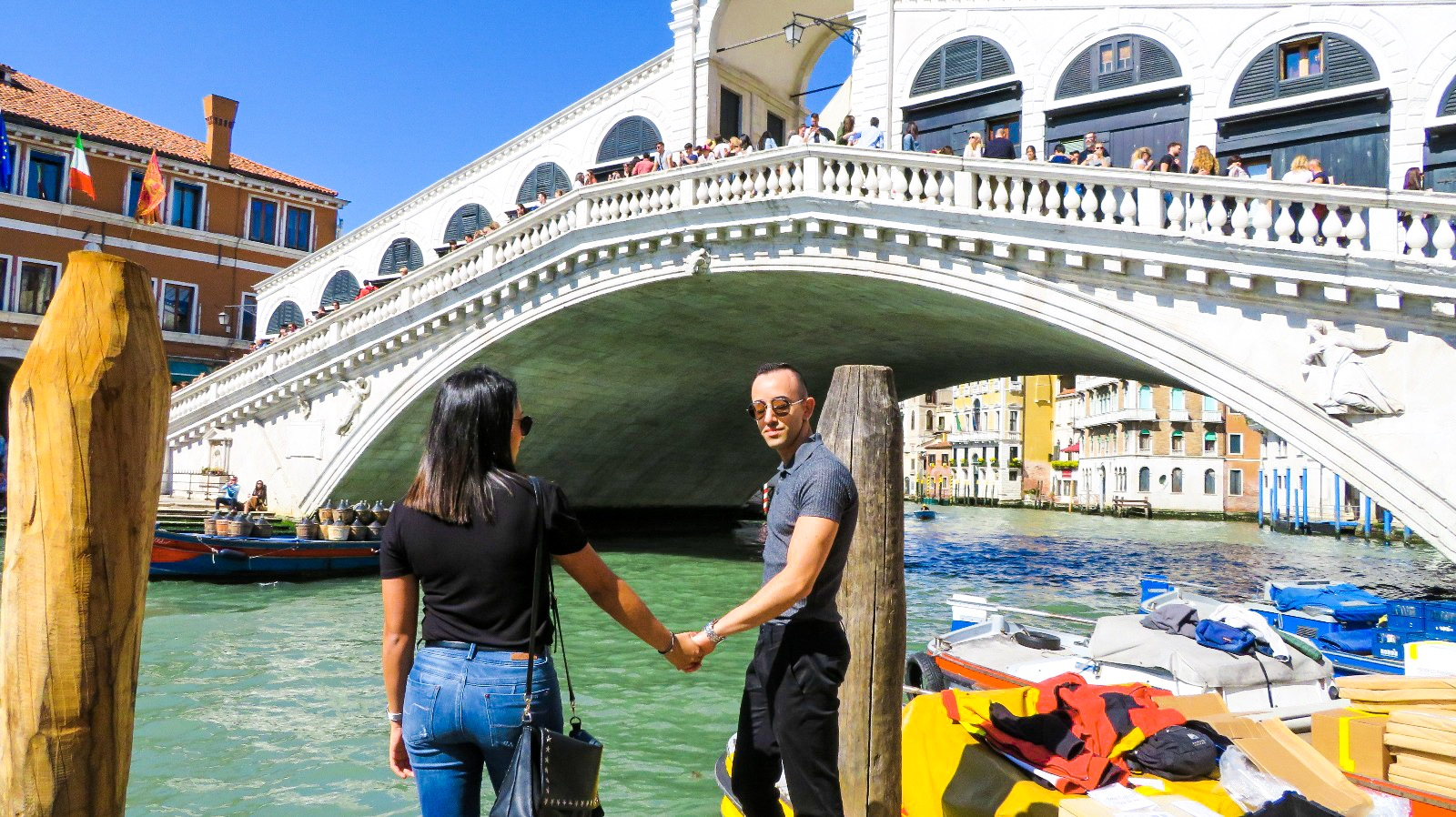 Isabella Paz, with Pierpaolo in Venice