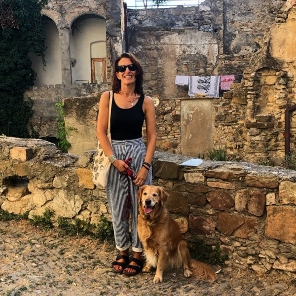 Bussana Vecchia, my dog and me