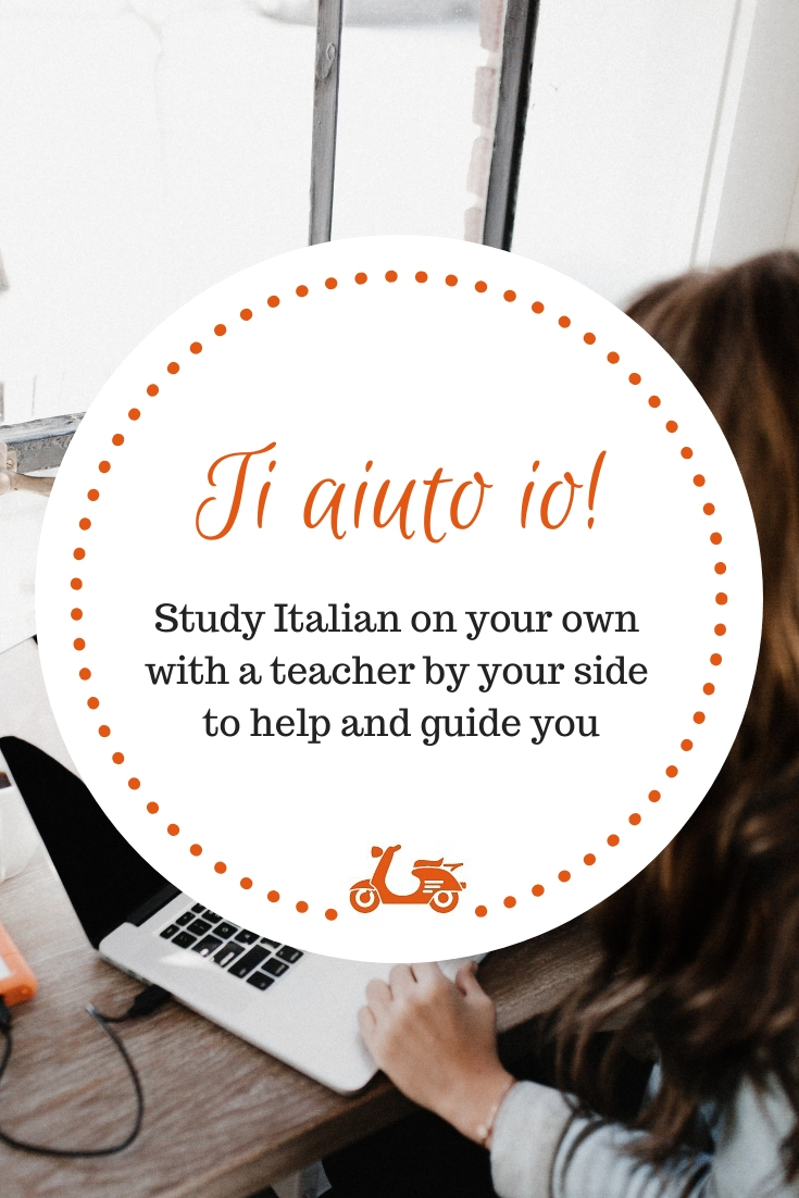 Ti aiuto io is an Italian language tutoring program that gives you the opportunity to study Italian online with a teacher by your side to guide you