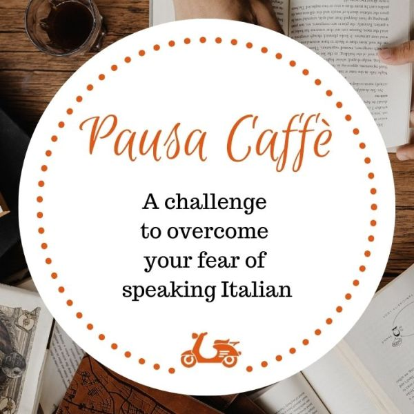 Pausa Caffè is a challenge that helps your overcome your fear of speaking Italian, one of the most common issues of students