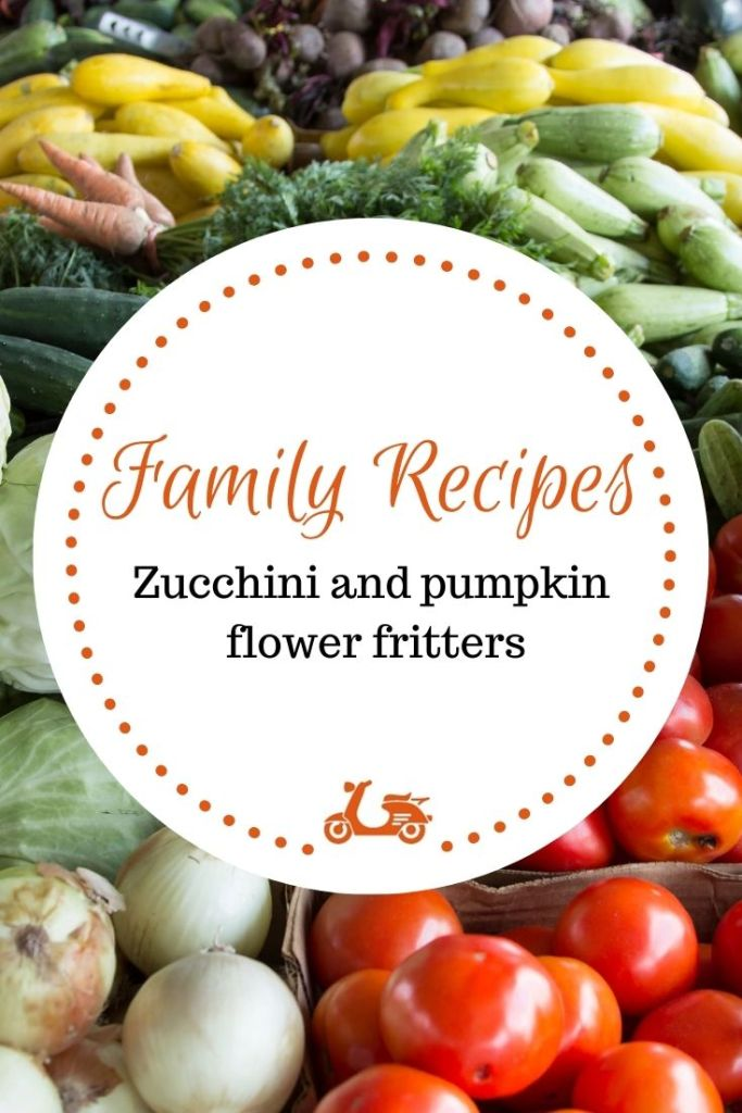Zucchini and pumpkin flower fritters are a staple in my family's Ferragosto. Here is the recipe.