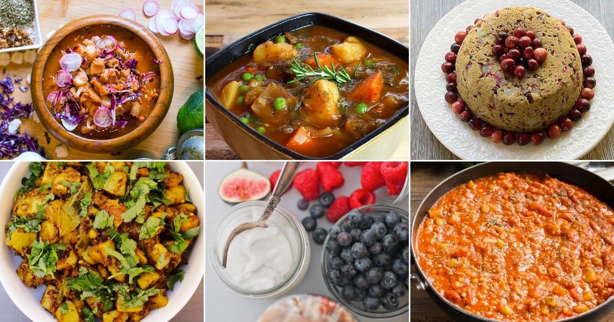 Vegetarian & Vegan Recipes For Your Instant Pot Pressure